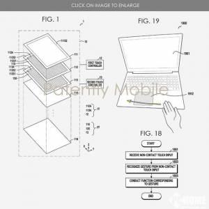 未来笔记本电脑可以识别手势操作
