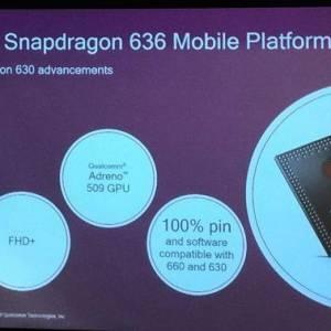 高通Snapdragon 636移动平台 可支持FHD+ 18:9宽屏幕