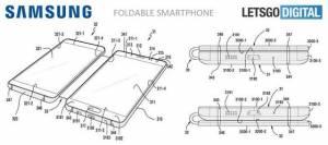 三星折叠手机专利图曝光 设计很糟糕?