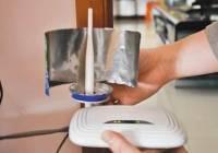 用易拉罐自制无线WiFi信号增强器?
