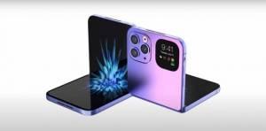 苹果将推出首款折叠屏手机曝光,长这样?