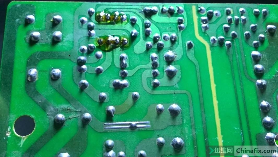 电动车48伏充电器修复过程
