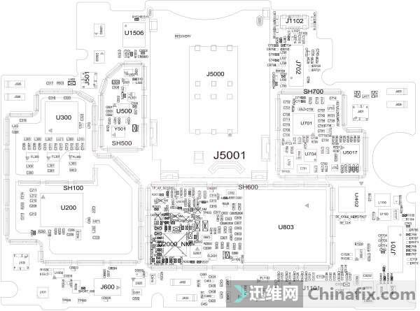 小米mi3 3级电路图