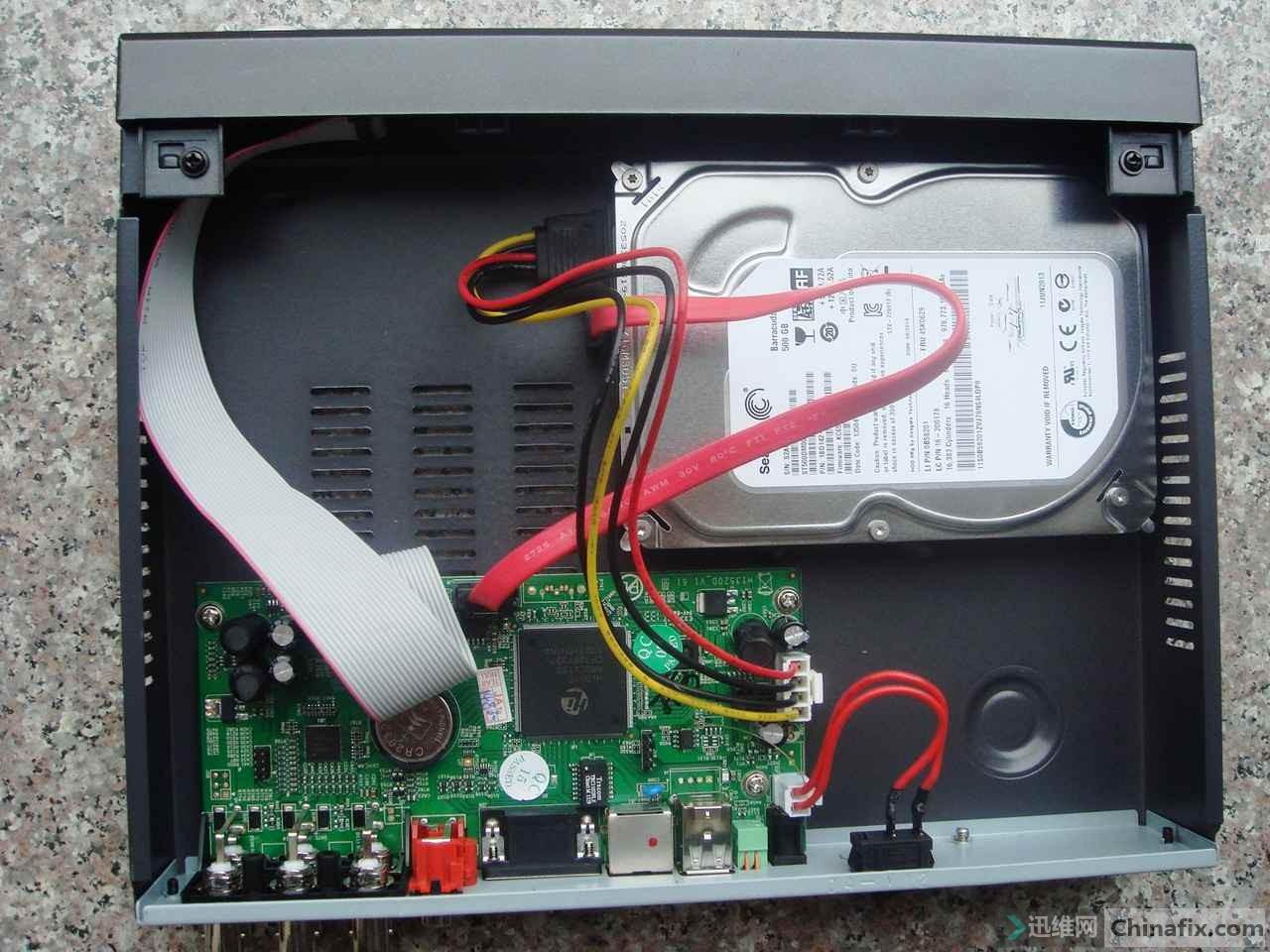 dvr ja7204s硬盘监控录像机