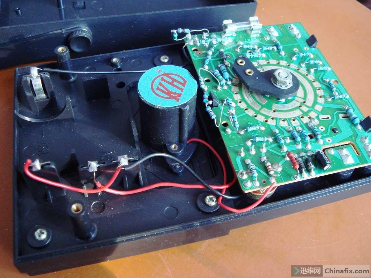 vc890d万用表电路板