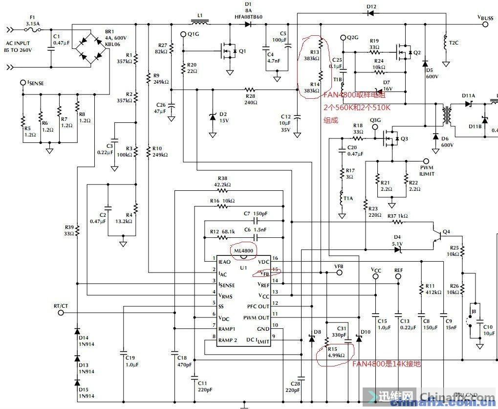 求教ml4800cp工作原理.