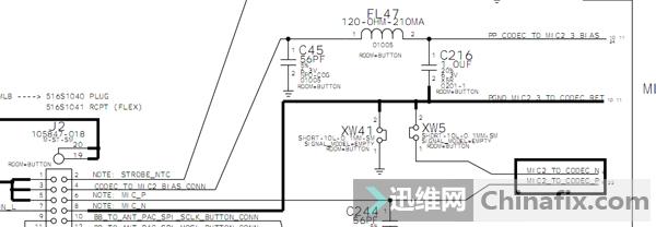 iphone 5s 音频子系统电路