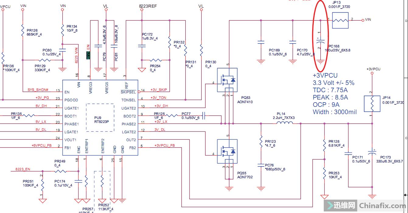 宏基tc 601主板电路图