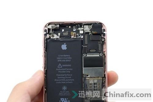 苹果iphone se拆机图解