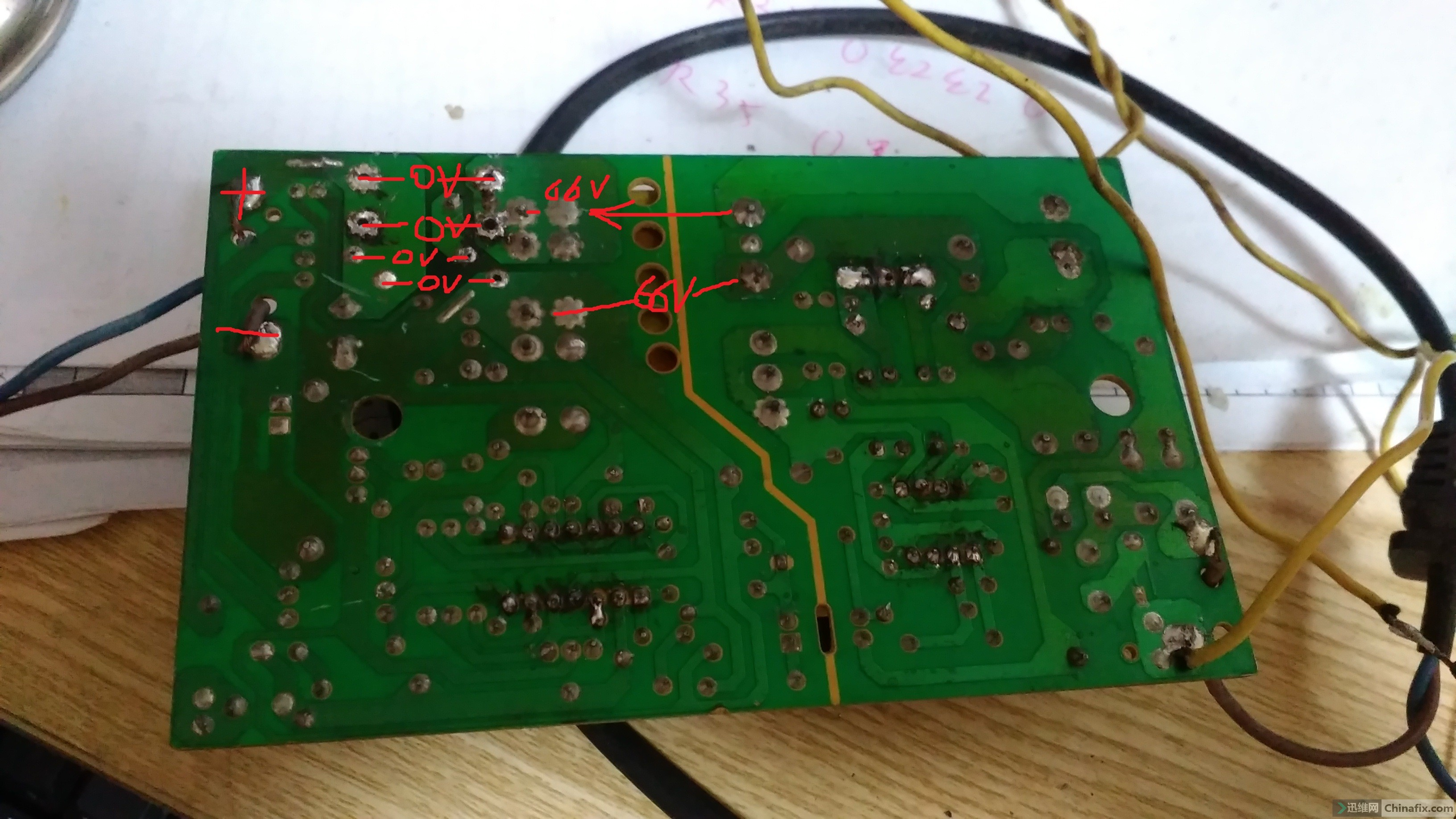一个电车充电器 故障 --通电 灯不亮 无输出