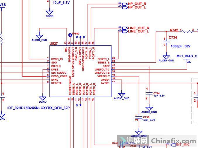 喇叭驱动芯片电路图