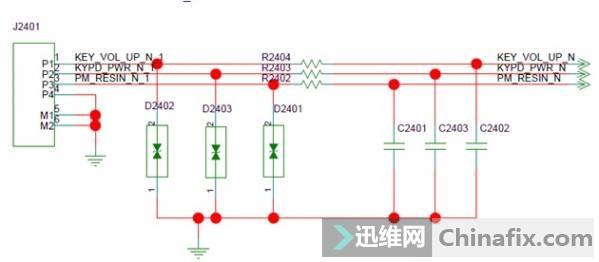 华为C8817D&E自动重启维修案例 一