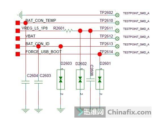 华为C8817D&E自动重启维修案例 二