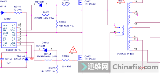 乐视超级电视s40电源板电路图资料