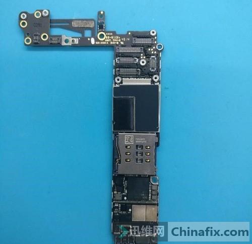 iPhone6插卡手机无服务通病维修思路 图9