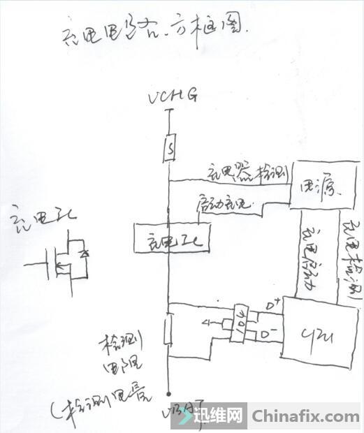 充电电路方框图