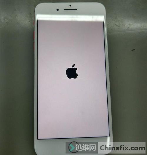 iphone7plus火线系统:故障摔过,开机进穿越苹果,卡白现象.安卓不了手机v火线图片