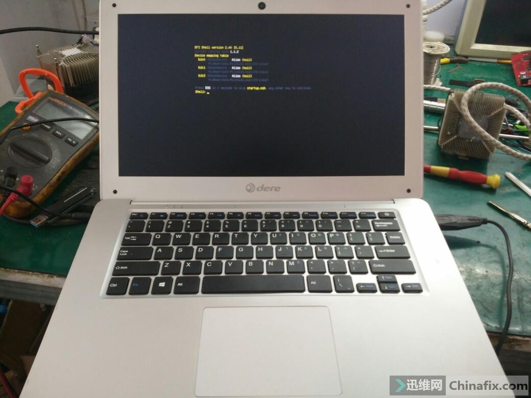 戴睿 dere 出现EFI shell version 2.40 迅维网维修论坛