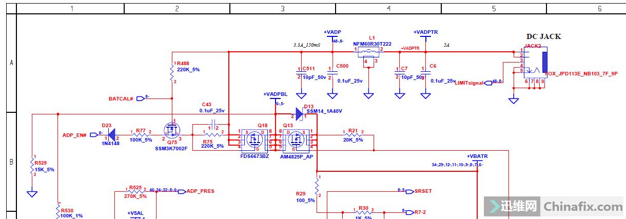 hp 6515b隔离电路很复杂