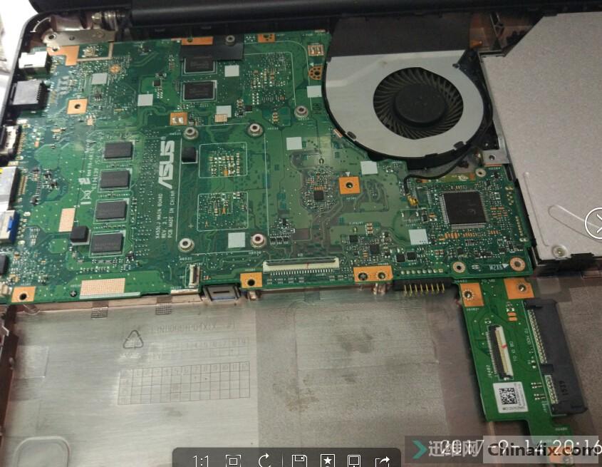 华硕笔记本a42j拆机_华硕w519l拆机 华硕w519l电池怎么拆开