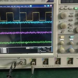 泰克DPO7054C数字示波器开机自检报错多故障维修