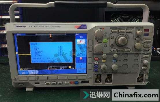 泰克混合信号示波器维修案例