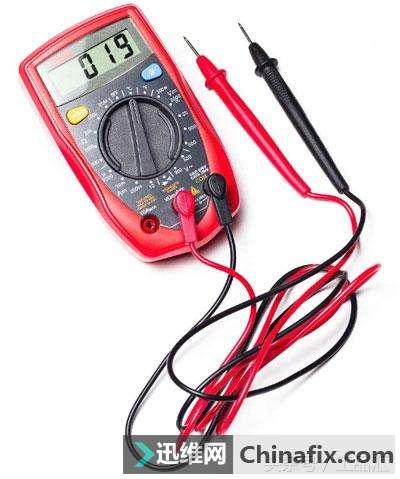 万用表如何测量电压 电流 电阻 稳压二极管图片