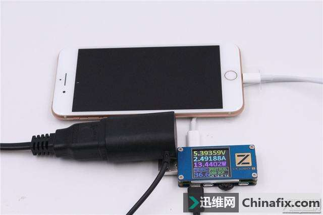 款USB PD充电器快充iPhone8Plus,效果评测