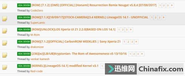 Xperia Z1 Resurrection Remix