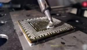 PS3主板GPU显卡芯片拆换过程,拖锡手法让你惊掉下巴