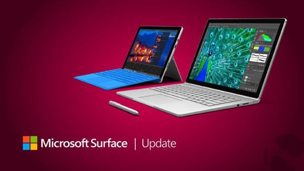 微软Surface Pro 4/Book新固件推送