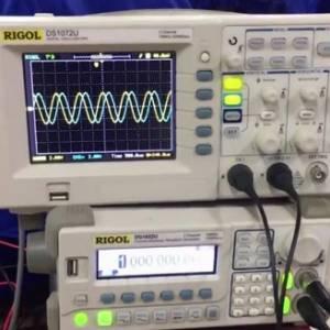 如何使用示波器测相位差
