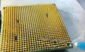 CPU针脚弯曲了怎么办?CPU针脚弯曲了的修复方法