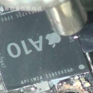 苹果iPhone7 A10 CPU上盖拆解视频