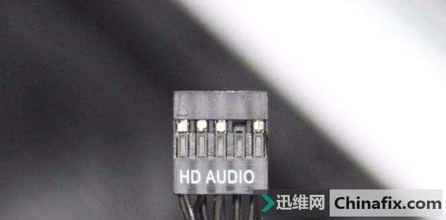 前置音频接口-电脑装机教程之主板跳线接法图片