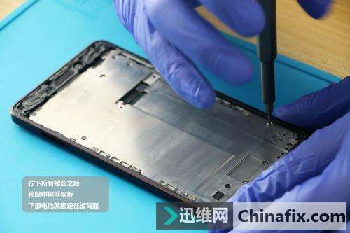 诺基亚6二代拆解  支持砸核桃的手机