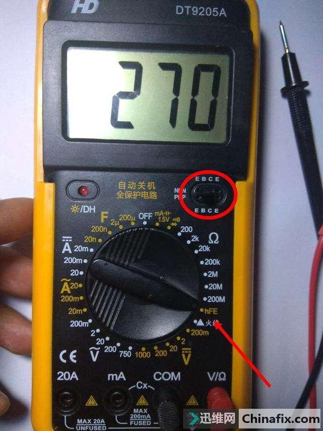 电工知识:万用表测二极管,三极管的好坏,看完秒懂收藏吧