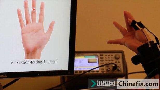 震撼!可穿戴技术能让你的手指识别手势