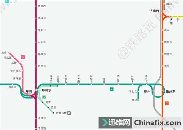 网友自制最新版高铁路线图,需要的了解一下
