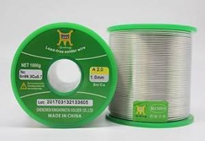 无铅焊锡丝技术参数及使用
