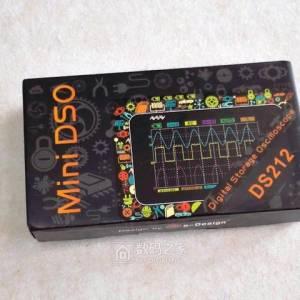 MiniDSO-DS211迷你示波器拆解及简单测试