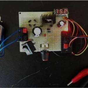介绍一种实用的可调直流稳压电源(电路图分享)