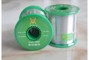 各种无铅焊锡丝的焊接温度设定