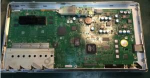 泰克DPO4034示波器usb接口无法与电脑通信故障维修