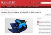 外媒:三星登顶美国最值得信赖的PC品牌 联想占据市场份额24%