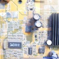 主板维修--不上电(华硕P5S533-TVM/S)