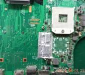 联想E40 显卡门,第一次除黑胶 成功案例