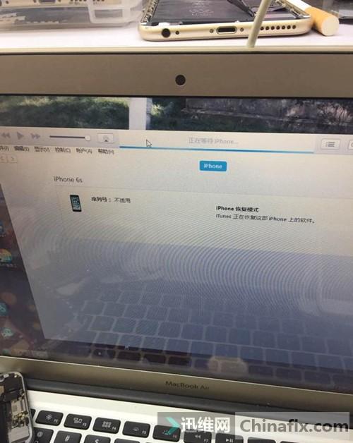 iPhone6s 扩容后 手机无法开机维修 图13