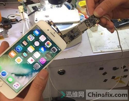 iPhone6手机无法开机故障解决