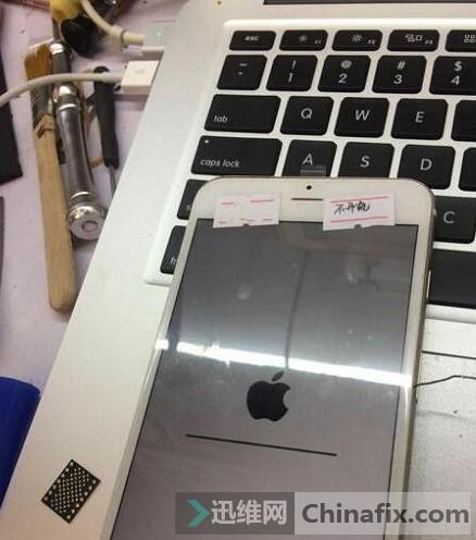 iPhone6手机无法开机-进度条卡住无法激活